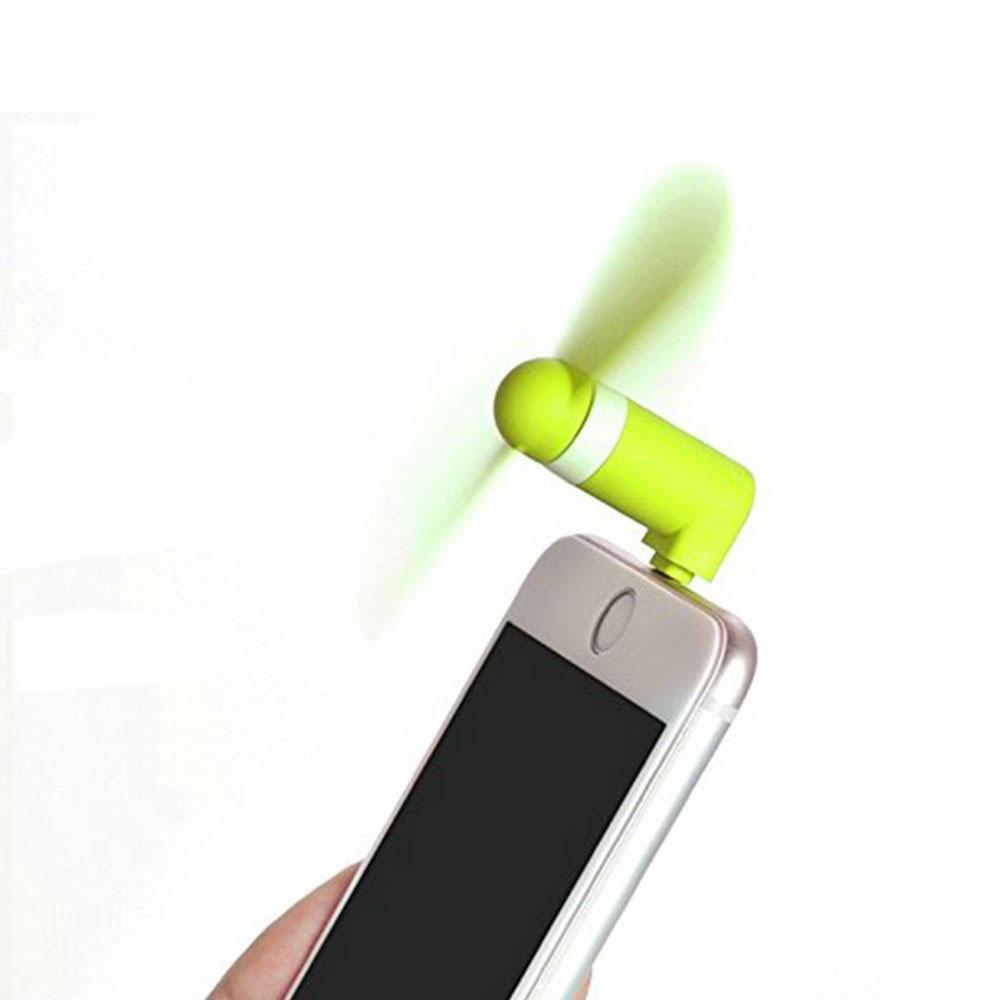 3-in-1 Mini Ventilator fürs Smartphone bedrucken bei Twing