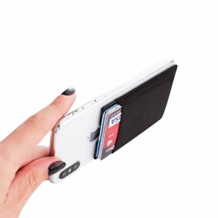 Smartphone und Kartenhalter in einem: Trend Werbeartikel fürs Handy, Handy Portemonnaie, Handy Finger Halter, Handy Kartenhalter, Karten Portemonnaie