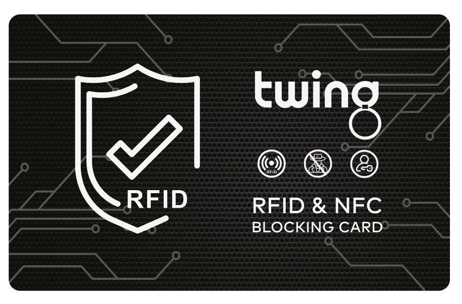 Twing RFID Blocker Karte