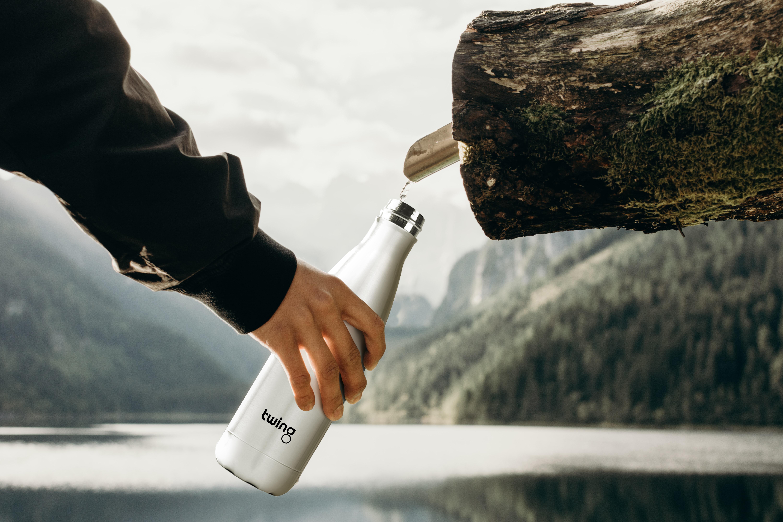 trinkflasche see wasser Trinkflasche bedrucken Bedruckte Trinkflasche Trinkflasche mit Firmenlogo